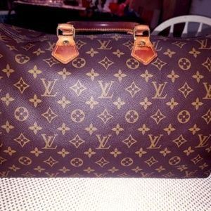 Louis Vuitton Vintage Malletier Monogram Speedy 40